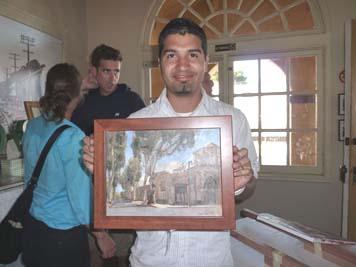 Sergio lopez w: winning painting