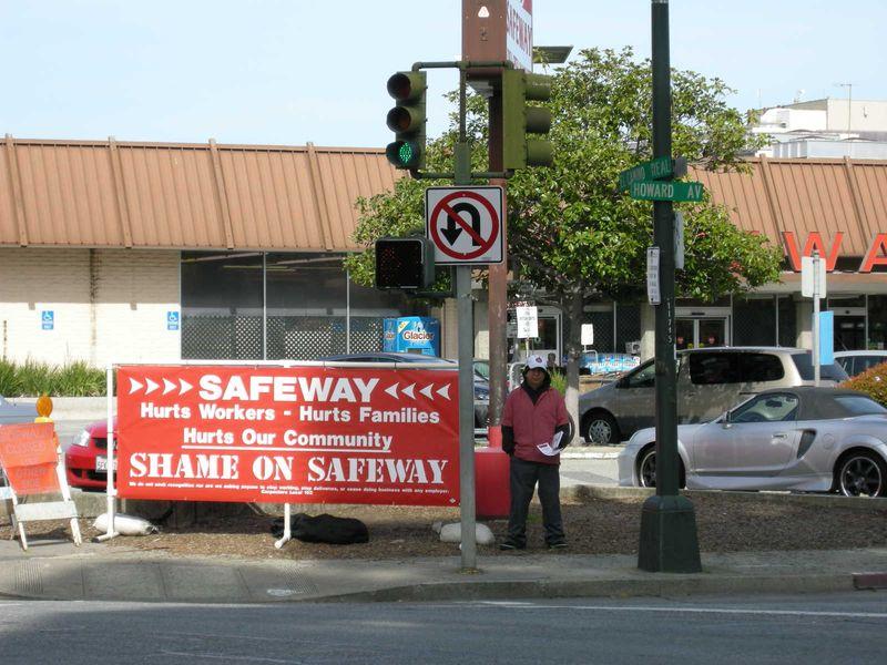 Safeway union protest