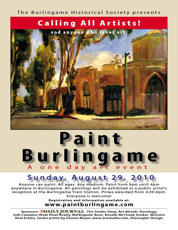 Paint burlingame flyer color '10