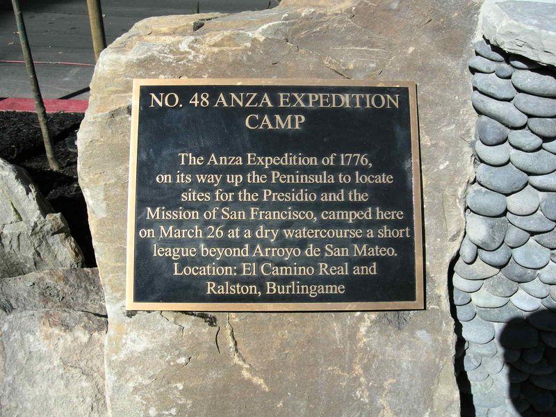 Anza plaque