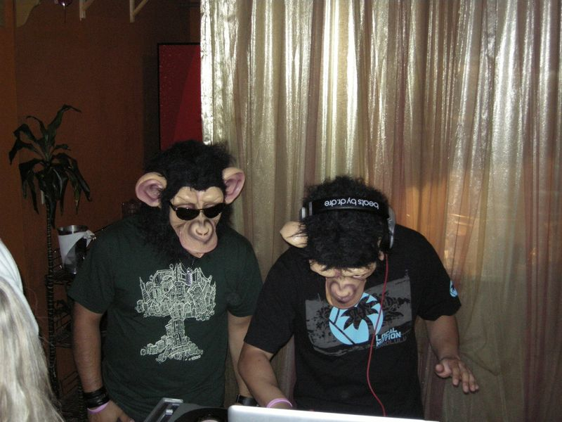 Monkey DJs at Coconut