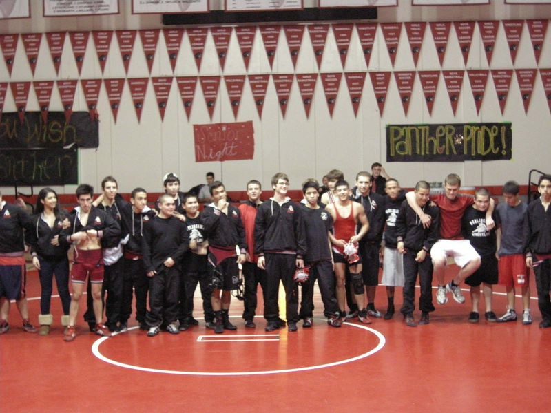 Wrestling team photo_2012
