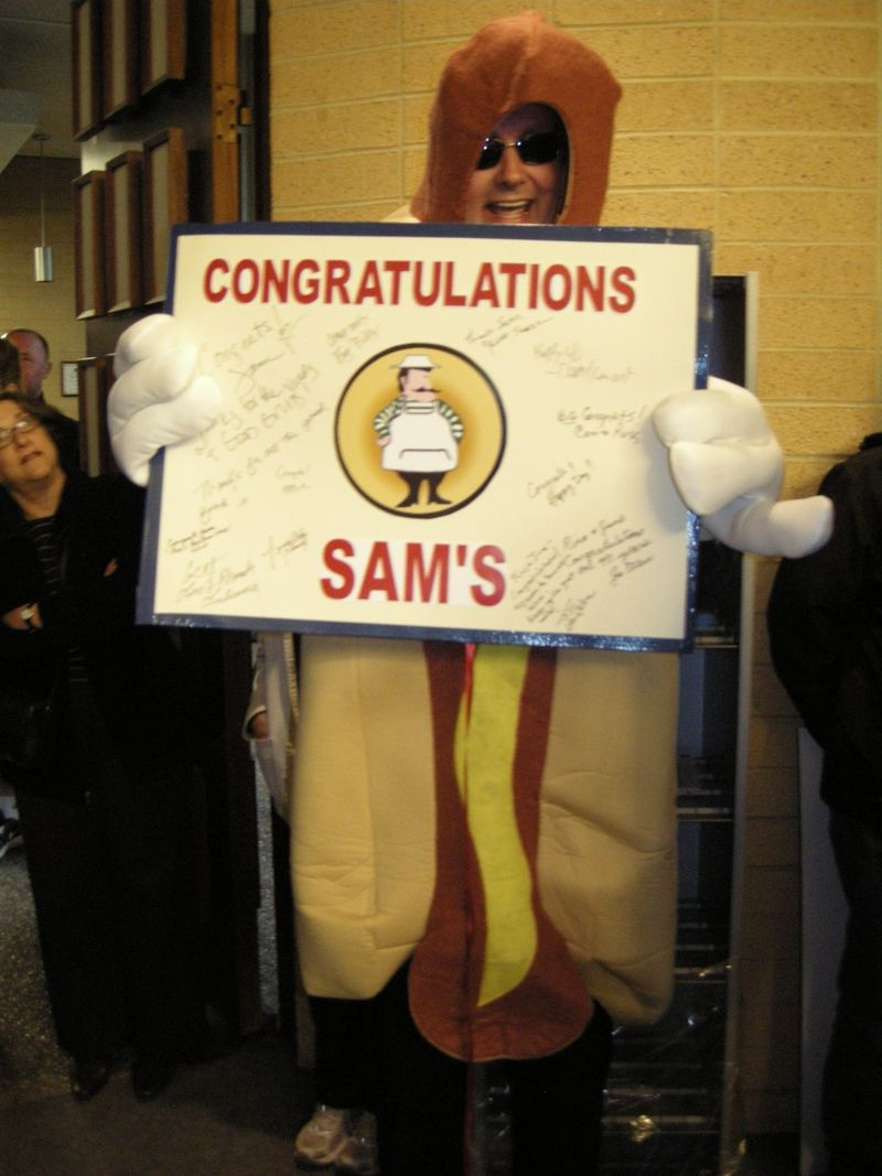 Gary Doss as Sam's Hot Dog
