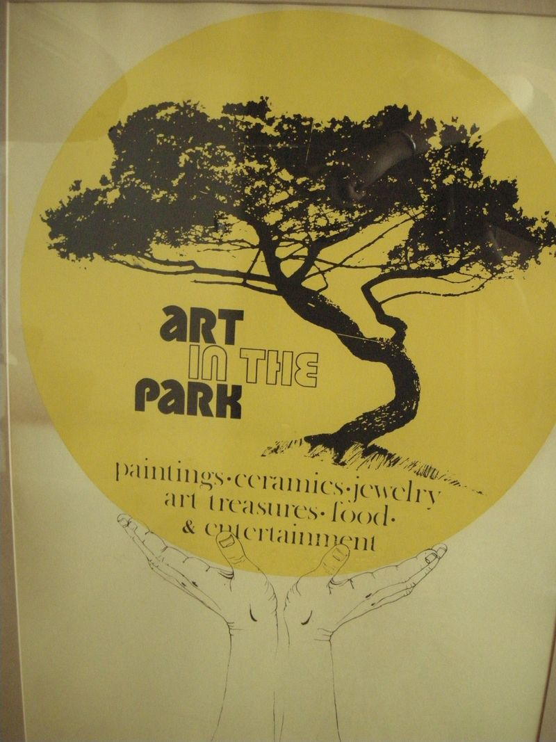 Art in the Park poster_1971