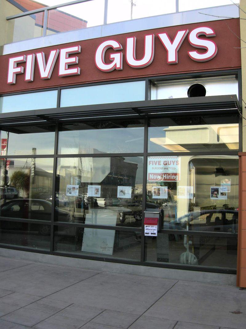 Five Guys hiring