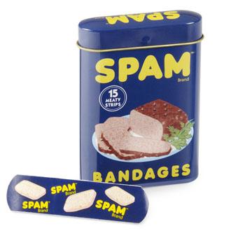 SPAM bandages