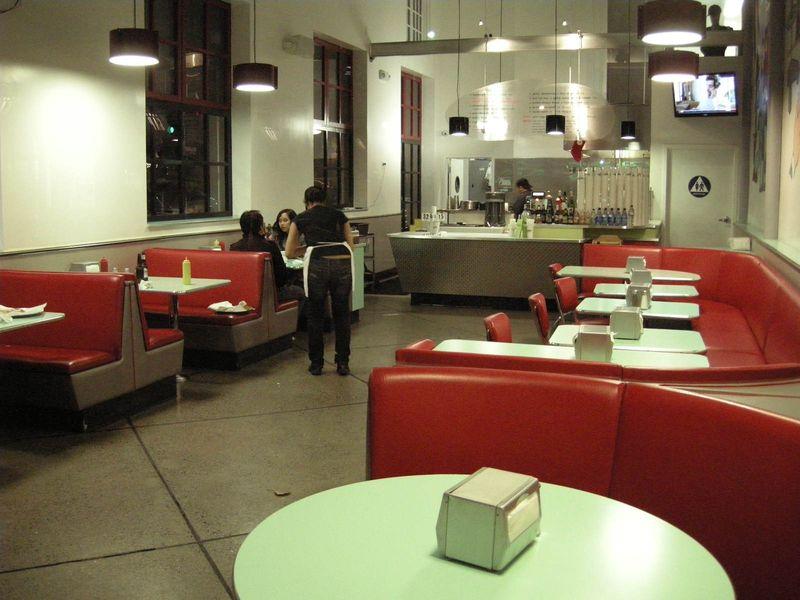 Burger Joint empty