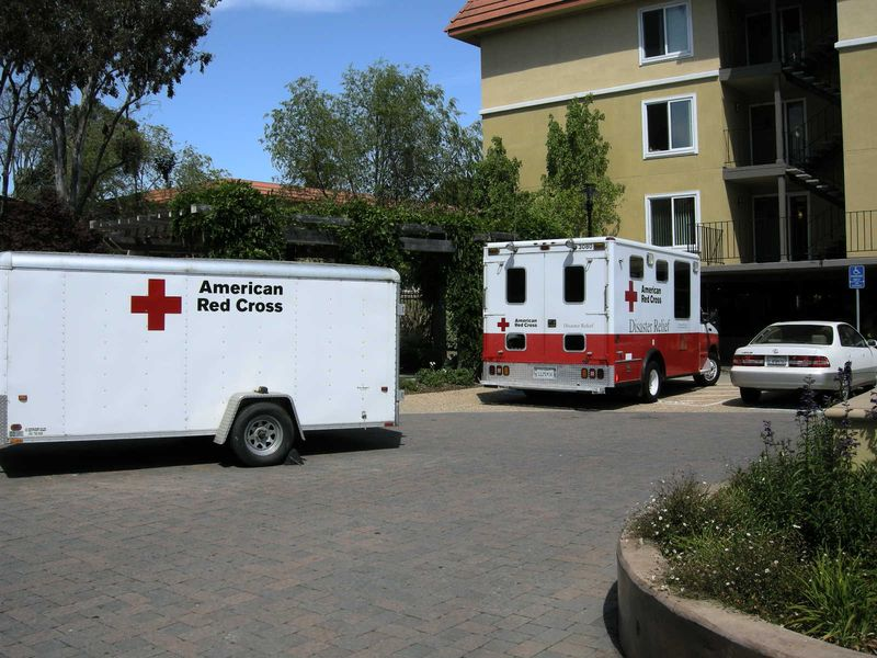 Red Cross at North Park