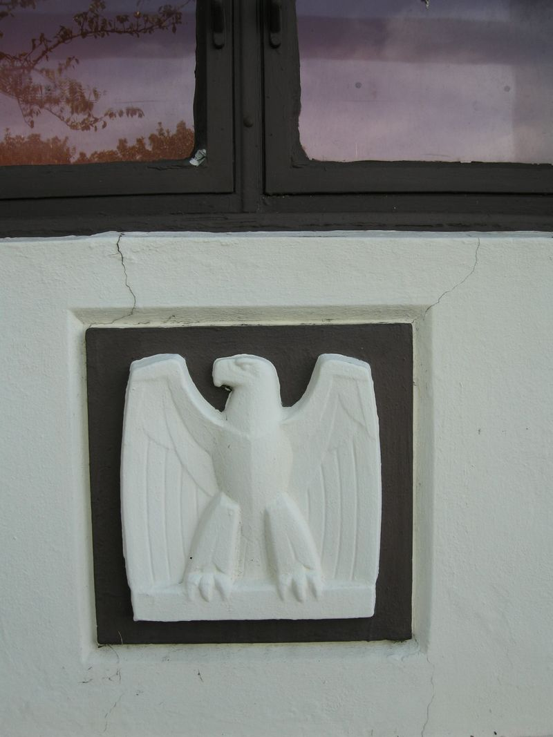 Post office eagle