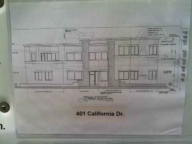 Cal ave sketch