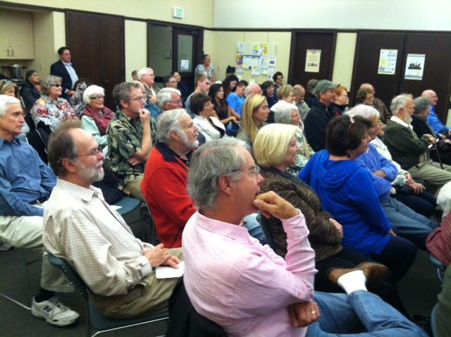 Mendelson crowd