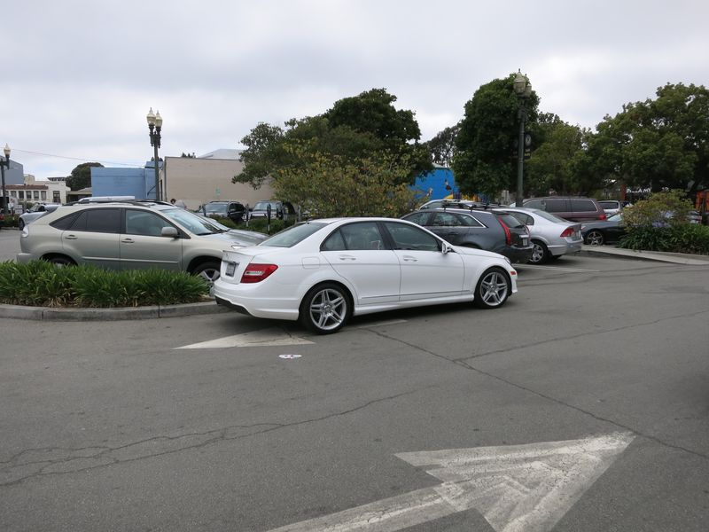 Parking idiot_Mercedes