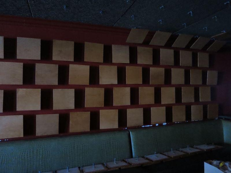 Vinyl room blank album frames