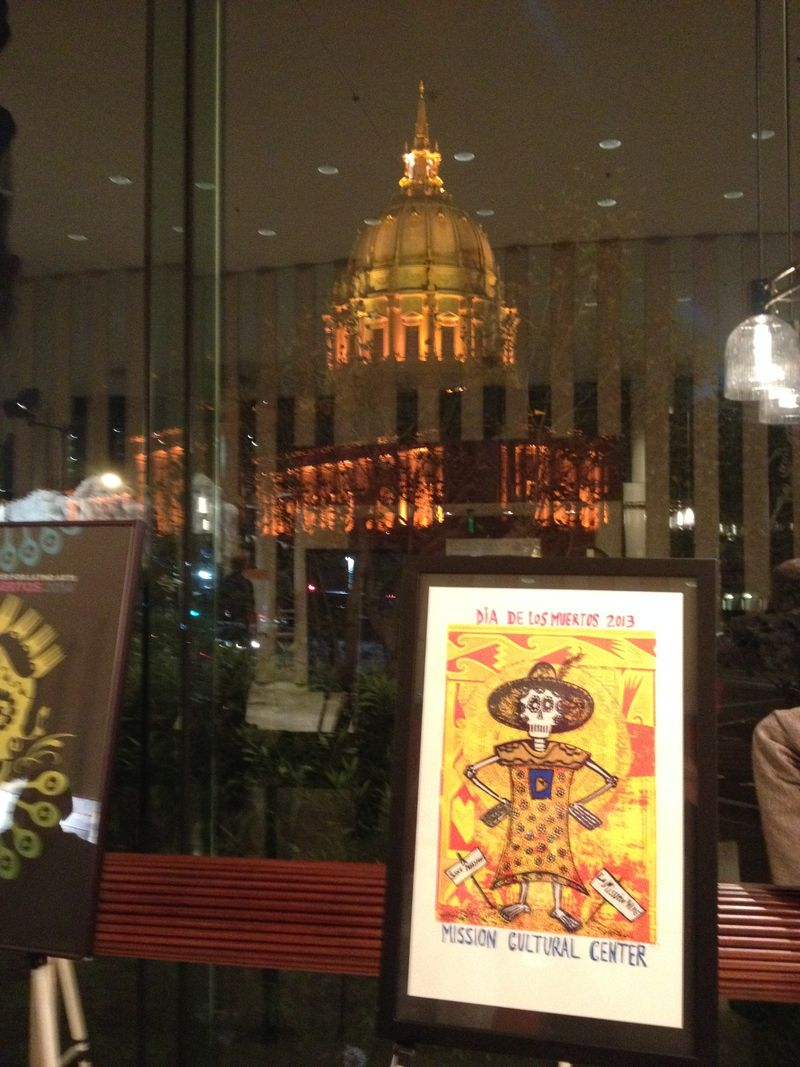 SF City Hall and Dia poster