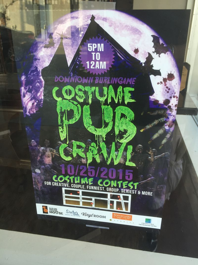 Halloween 2015 pub crawl
