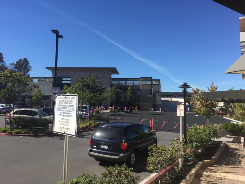 Parking lot repave