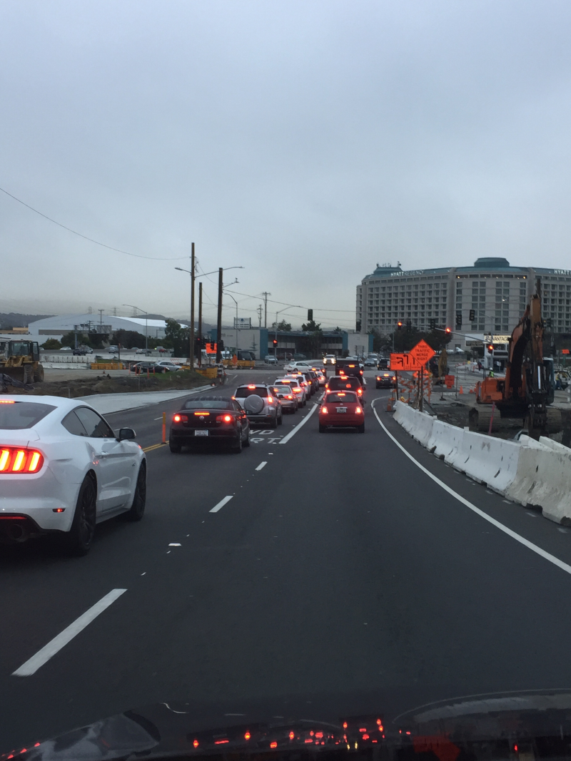 Bway overpass new ramp