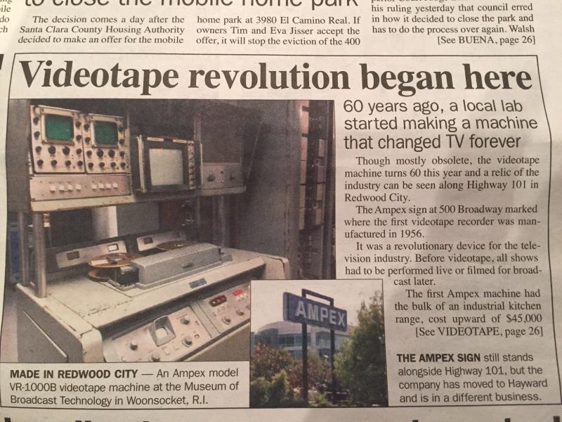 Ampex article