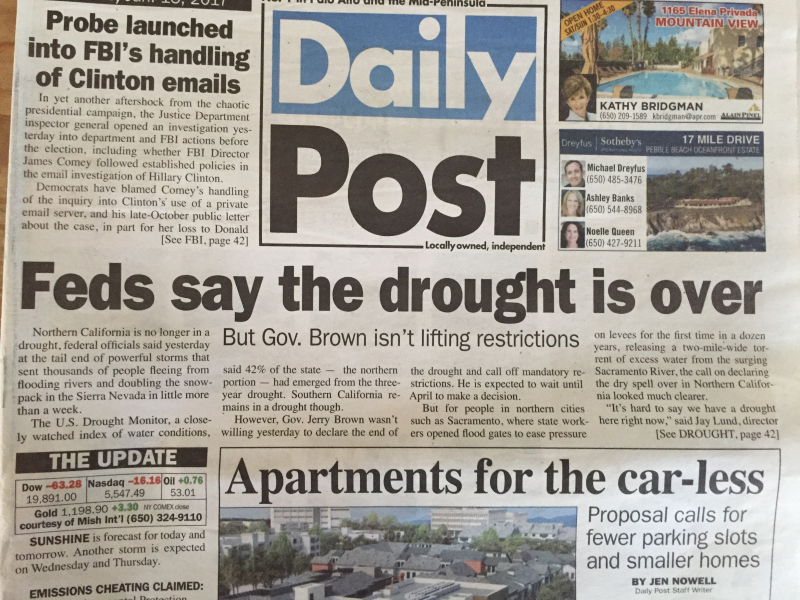 DP Feds Drought Over