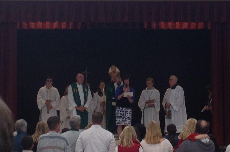 St C comm center blessing2
