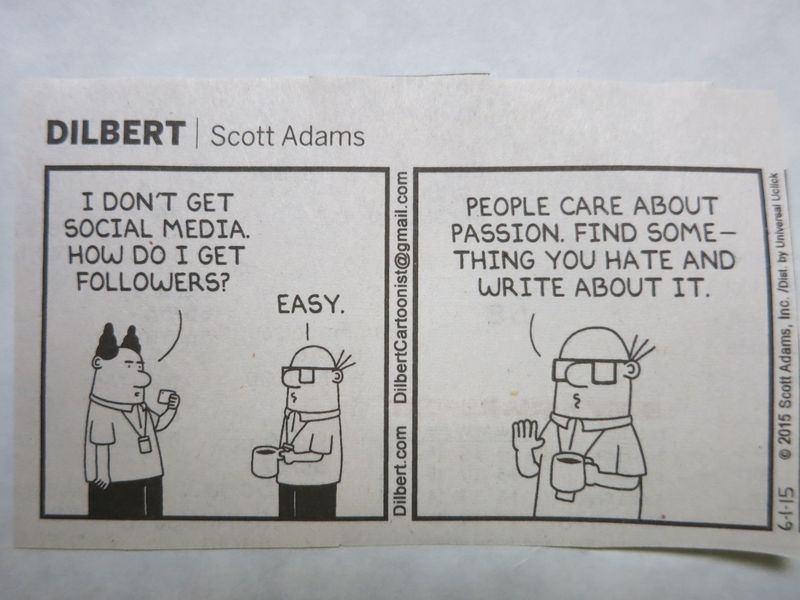 Dilbert on Social Media