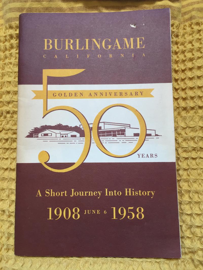 50th Golden Anniv booklet