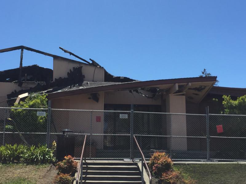 Millbrae community center fire