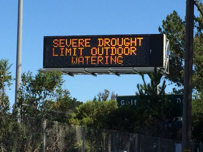 Severe Drought sign