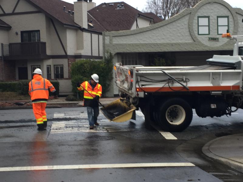 Caltrans pothole fillers