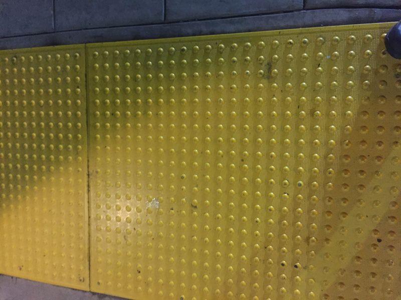Yellow dot danger