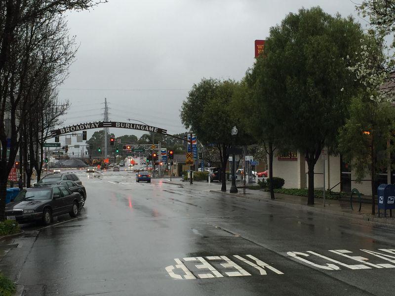 B'way in the rain1