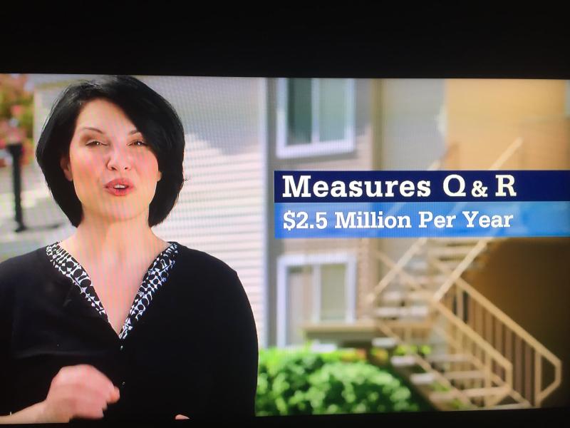 Measure R an Q TV ad