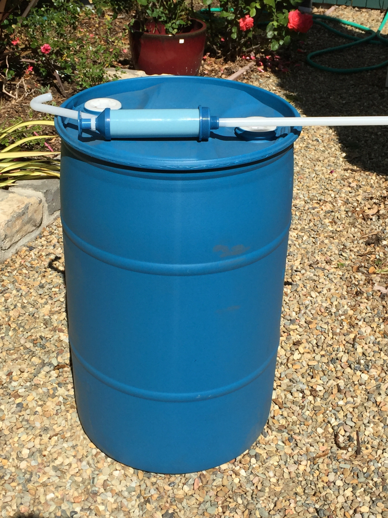 Water barrel