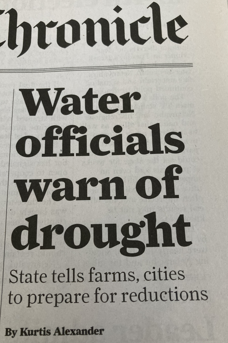 Drought 2021