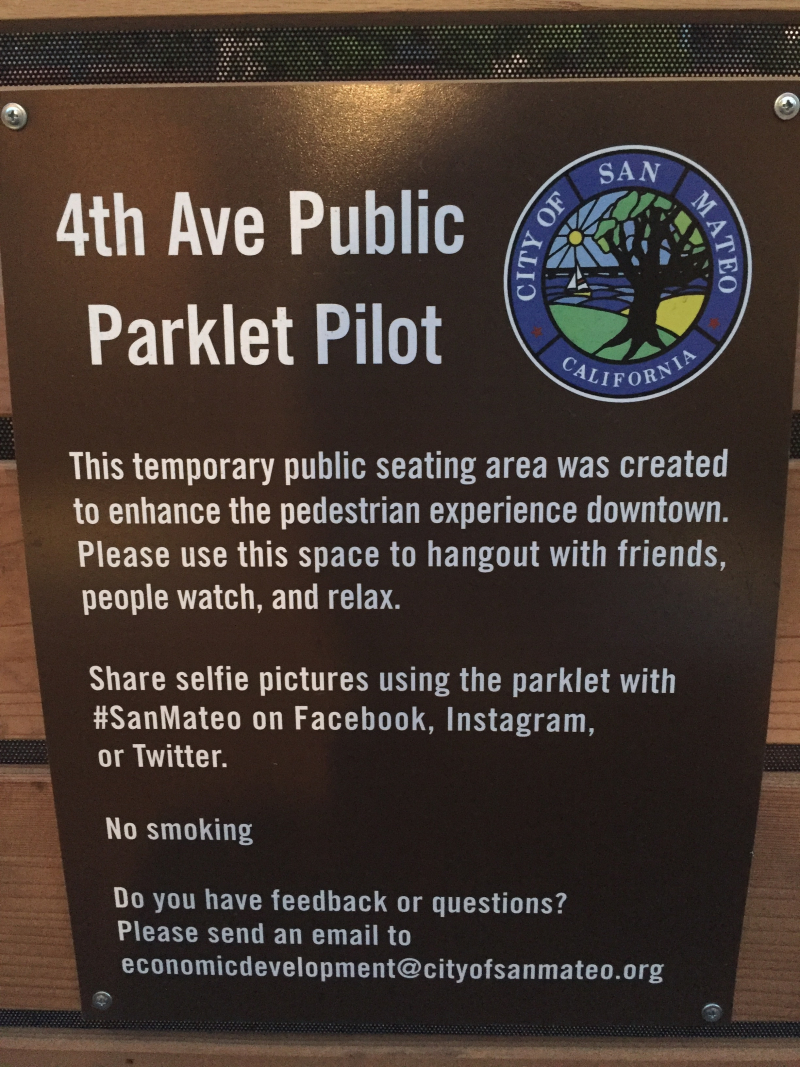 4th Ave Parklet
