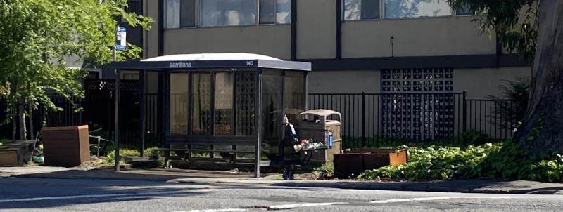 SamTrans bus dump