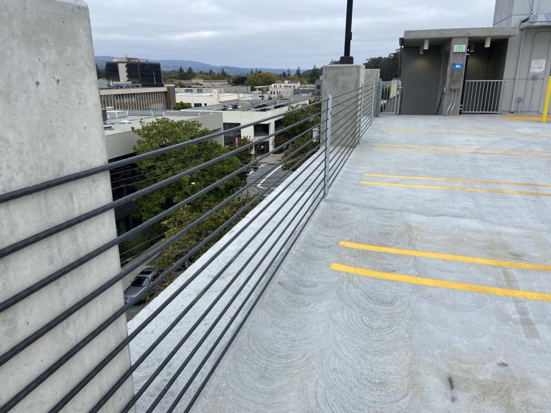 Top Floor rail